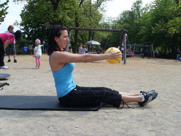 Podpůrná akce pro cvičení dětí